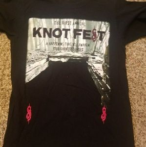 1st Ever KnotFest Slipknot Band Tee Hot Topic